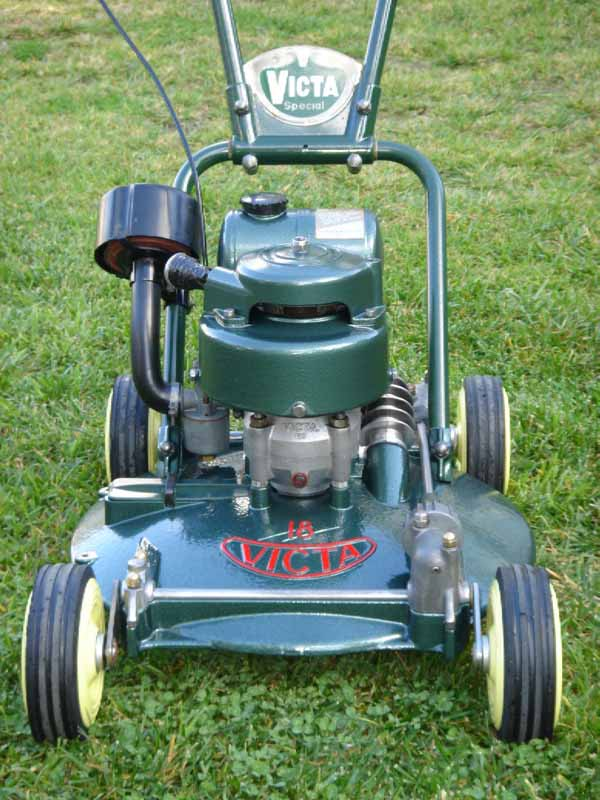 here is a very early victa 18 fan mower extremely hard to. Black Bedroom Furniture Sets. Home Design Ideas